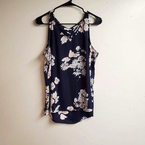 Maurices Floral Sleeveless Top